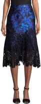 Monique Lhuillier Women's Guipure Lace Skirt