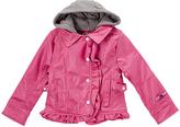 YMI Jeanswear Fuchsia Faux Leather Jacket - Toddler