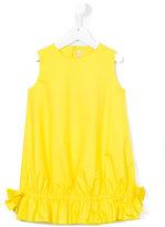 Il Gufo ruffled hem dress - kids - Cotton/Spandex/Elastane - 2 yrs