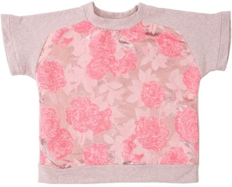 Anne Kurris Lurex Jacquard & Cotton Sweatshirt