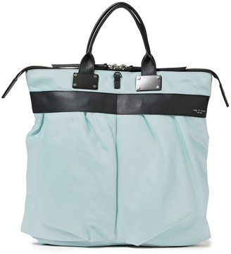 Rag & Bone Pilot Leather-trimmed Shell Tote