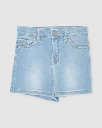 Gelati Jeans Kids - Girl's Blue Denim - Cara High Rise Shorts - Size One Size, 8 at The Iconic