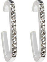 Rebecca Minkoff Mini Pave Safety Pin Earring
