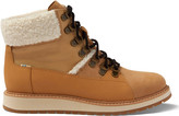 Waterproof Desert Tan Suede and Leather Women's Mesa Boots