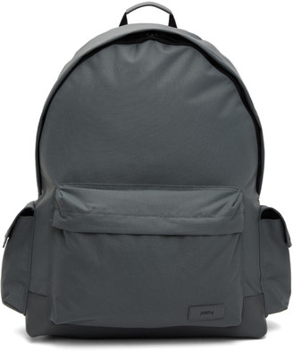 Juun.J Grey Side Pocket Backpack