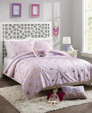 Jessica Simpson Fiona Unicorn Twin 3-Piece Comforter Set