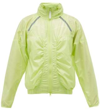 adidas by Stella McCartney Lightweight Zip-through Waterproof Jacket - Womens - Green