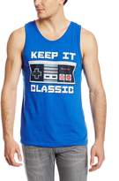 Nintendo Men's Keep It Classic Tank T-Shirt