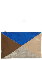 Sole Society Steph Patchwork Clutch