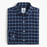 Cordingstm For J.crew Shirt In Naval Blue Check