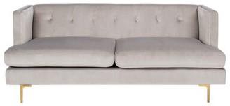 George Oliver Dowdle Diamond Tufted Sofa George Oliver