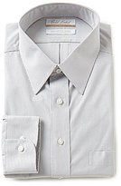 Roundtree & Yorke Gold Label Big & Tall Regular Full-Fit Point-Collar Striped Dress Shirt