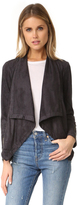 Cupcakes And Cashmere Mackenzie Draped Front Jacket