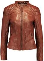 Maze BRIGHTWATER Leather jacket cognac
