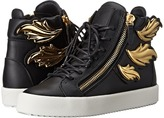Giuseppe Zanotti Hi-Top Winged Sneaker Women's Lace up casual Shoes
