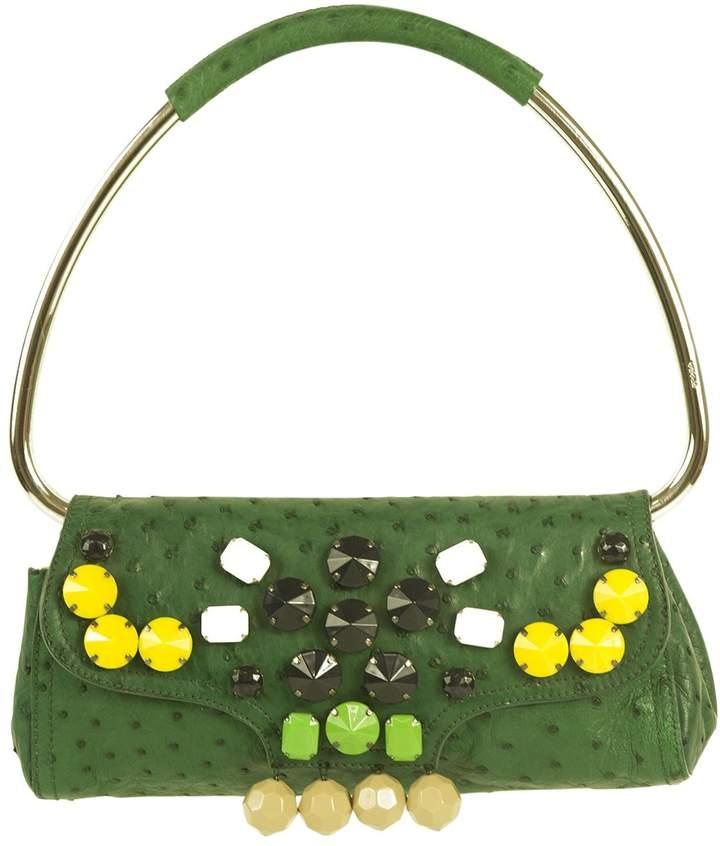 Prada Green Exotic leather Handbag