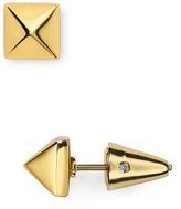 Eddie Borgo Pyramid Stud Earrings