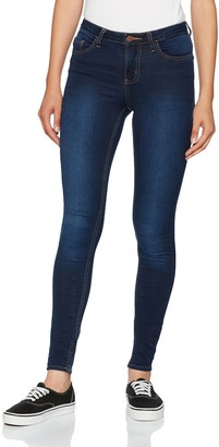 Pieces Women's Pcfive Bettysoft C113 Mw Skn Dbld/noos Skinny Jeans