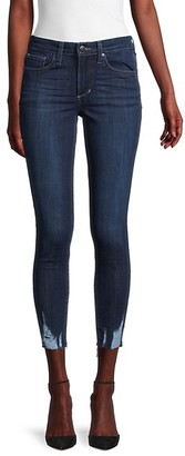 Joe's Jeans Distressed Cropped Skinny Jeans