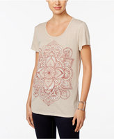 Style&Co. Style & Co. Floral Graphic T-Shirt, Only at Macy's