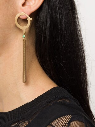 Wouters & Hendrix I Play chrysoprase chain earring