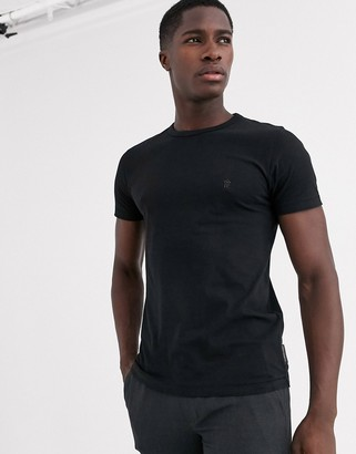 French Connection Essentials t-shirt in black