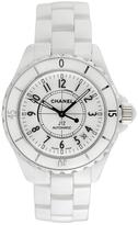 Chanel Vintage J12 Ceramic Watch, 38mm