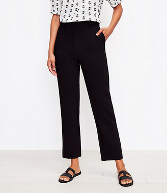 LOFT Tall High Waist Slim Pants