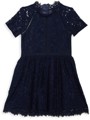 Bardot Junior Girl's Lace Fit & Flare Dress