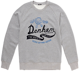 Denham 'route To The Blue City' Sweatshirt, Grey Marl