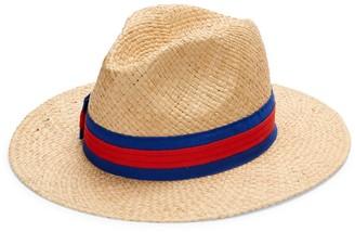 Saks Fifth Avenue Made In Italy Raffia Panama Hat