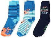 Joules Boy's Brill Bamboo Sports Socks,Small (Manufacturer Size:9-12) pack of 3