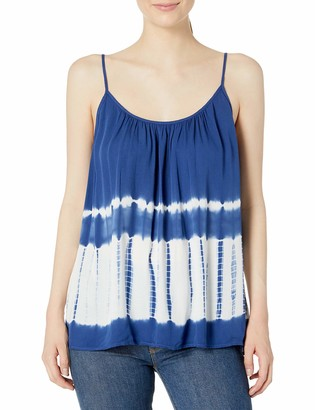 BB Dakota Women's Kaysen Tie Dye Print Tank Top