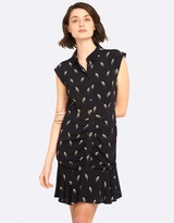Oxford Pippa Bird Print Dress
