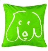Pin It Crypton Doodle Dog Pillow Kermit