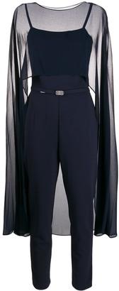 Lauren Ralph Lauren Embellished Belt Jumpsuit