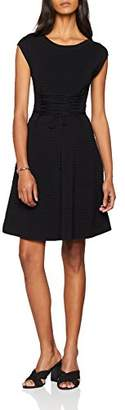 French Connection Women's Katie Crepe Knits LACE UP DRSS Dress,Size: