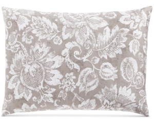 Charter Club Damask Designs Jacobean Cotton 300-Thread Count Standard Sham, Created for Macy's Bedding