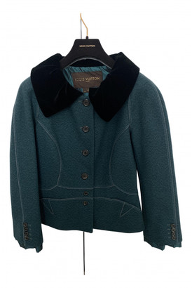 Louis Vuitton Green Wool Jackets