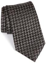 Armani Collezioni Men's Geometric Silk Tie