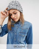 Reclaimed Vintage Cable Knit Beanie