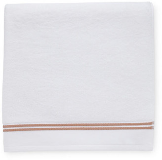 Sferra Aura Bath Towel - White/Copper