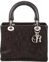Christian Dior Medium Laser Cut Lady Bag