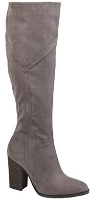Journee Collection Comfort Foam Kyllie Boot - Extra Wide Calf (Grey) Women's Shoes