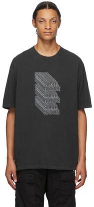 Ksubi Black 3D Super Nature T-Shirt
