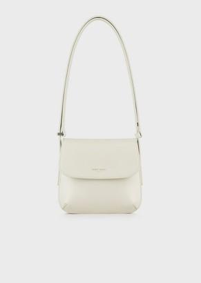 Giorgio Armani Small La Prima Bag In Palmellato Leather