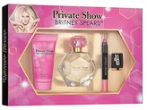 Britney Spears Women's Private Show by & Lip Shades Gift Set 4 -Piece