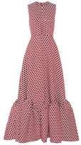 Huishan Zhang Sleeveless polka-dotted dress