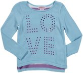 Design History Hi-Lo Tunic (Toddler/Kids) - Aquarius-6x