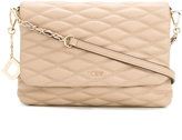 DKNY quilted satchel bag